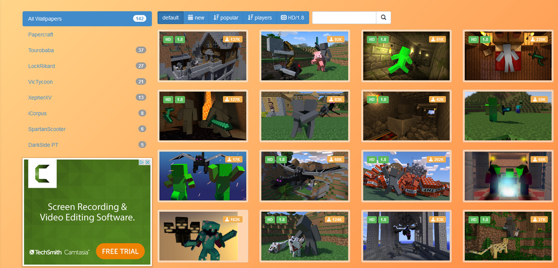 Minecraft Wallpaper Creator Now Avalible